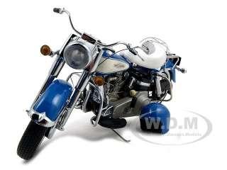 car model of 1966 harley davidson flh electra glide hi fi blue by