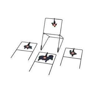 4 NRA .22 Silhouette Spinner Targets, Metal Sports