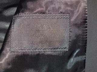 prada blazer black label jacket jacke 100%authentic 56 r 46 usa