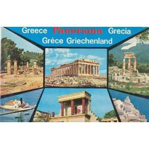 Greece Panorama Grecia Grece Griechenland Books