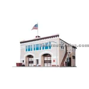 Revell operating engine house kit complete ob ho scale for Complete home building kits