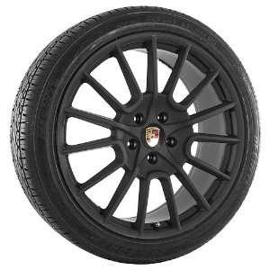 22 Inch Black 170 Series Wheels Rims and Tires for Porsche Automotive