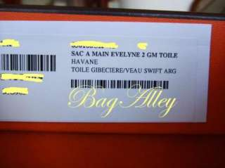 AUTHENTIC NEW Hermes EVELYNE Messenger Bag Purse