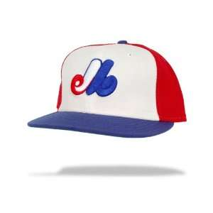 Montreal Expos Cooperstown Fitted Game MLB Baseball Cap