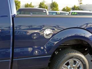 2009 2011 Ford F 150 Chrome Stainless Gas Door Cover