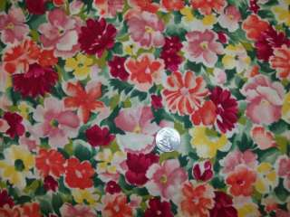 Large Pink Purple Pansy Flower Fabric Valance Curtain