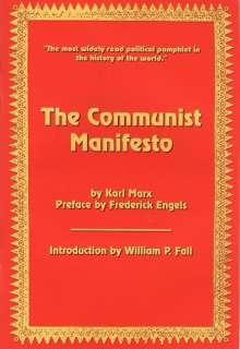 The Communist Manifesto by Karl Marx pb booklet JBS