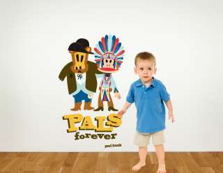 Paul Frank Julius Monkey Pals Forever Wall Sticker Decal Wallpaper