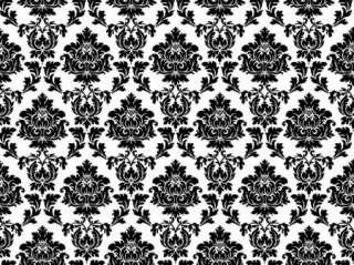 & White Pattern Vinyl Sticker Decal Cricut Plotter 8 x 12 1 Sheet
