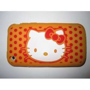 I Phone 3G 3GS light weight Hello Kitty Silicone Case