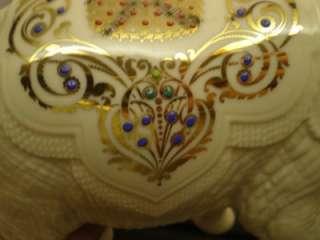LARGE PALACE ELEPHANT   LENOX CHINA JEWELS COLLECTION