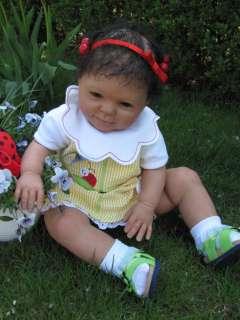 Sugar Bay bee* ethnic reborn baby* Alicia *Donna Rubert