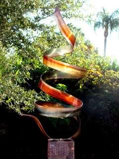 Contemporary Abstract Metal Art Outdoor SculptureAmber Twist
