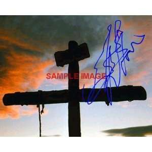 Mel Gibson PASSION OF THE CHRIST signed CROSS Everything