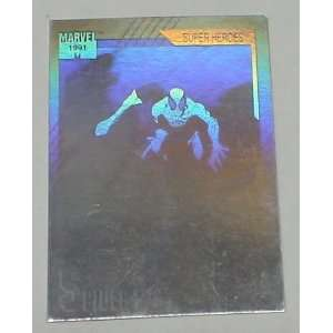 1991 MARVEL COMICS SPIDERMAN CHASE CARD HOLOGRAM