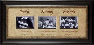 Faith Family Photomat & Picture Frame 4 Your Pics