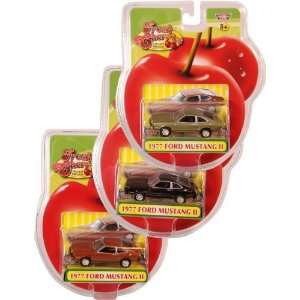 160 FC Die Cast Ford Mustang II 1977 3 Assorted Case Pack