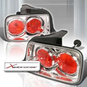 05 09 Ford Mustang Tail Lights   Chrome or Black (pair