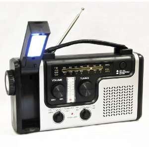 Emergency Solar Hand Crank Dynamo AM/FM/NOAA Weather Radio