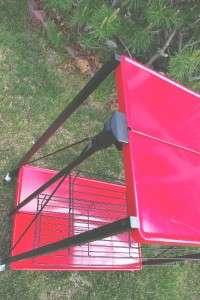 Stylish Metal Board+Stainless Steel Folding Table