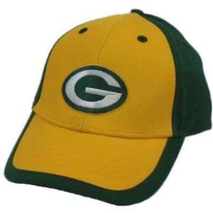 NFL GREEN BAY PACKERS PACK GOLD YELLOW VELCRO HAT CAP