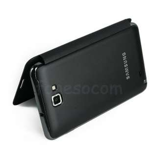 Samsung Original Flip Leather Case Cover 4 Galaxy Note N7000 I9220