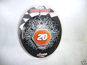 RACE NUTZ Tony Stewart #20 WINDOW CLING Rico NIP