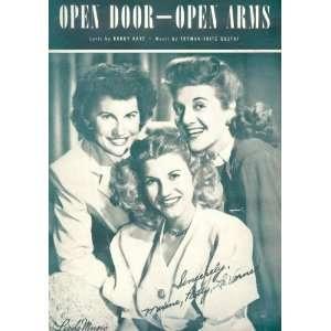 Open Doors Open Arms: Books