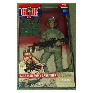 GI Joe Gulf War Army Grenadier 12 Action Figure Toys & Games