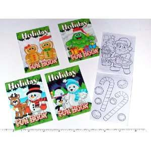 Holiday Fun and Game Book   12 per unit Toys & Games