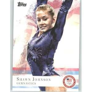 Shawn Johnson   Gymnastics (U.S. Olympic Trading Card) Sports