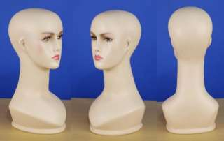 Brand New 15 Flesh Tone Head Female Mannequin 101N
