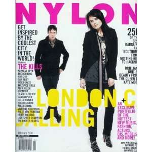 Nylon Magazine   February 2008 London Calling   From the