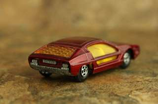 Matchbox Lesney No 20 Lamborghini Marzal 1969 Red, made in England