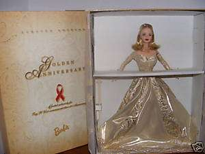 GOLDEN ANNIVERSARY BARBIE 1998 TOYS R'US EXCLUSIVE NRFB