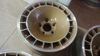 15x8 Pontiac Trans Am Firebird Turbo Wheels Original Refinished Gold