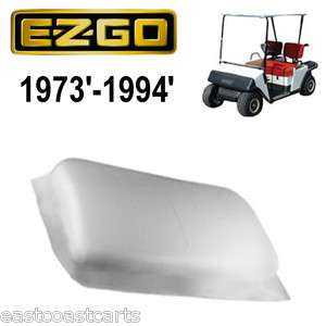2d57545aca4 ... EZGO Marathon Golf Cart 1973 1994 WHITE Seat Bottom Cover 15146 G1 ...