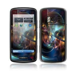 Nokia C6 01 Decal Skin Sticker   Abstract Space Art