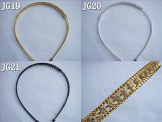 Product Name  Gorgeous Wedding Bridal Crystal Hairband Headband JG