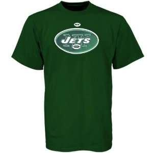 New York Jets Green Logo Tech T shirt