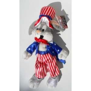 Dc Comics Bugs Bunny As Uncle Sam Bean Bag Plush 11