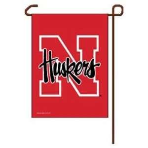 Nebraska Cornhuskers Official Logo 11x15 Garden Flag