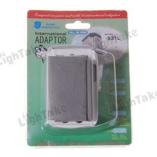 Multifunctional Universal International Travel Adapter
