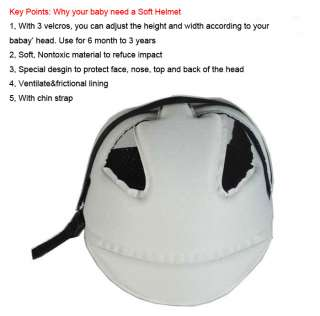 Adjustable Baby Toddler Safety Helmet Headguard Hats Cap No Bumps