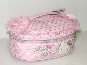 NEW HELLO KITTY COSMETIC HAND BAG MAKE UP CASE HL 5101P