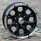 16 inch Black Wheels/Rims HELO Maxx 6 Chevy Gmc 1500 Trucks 6 lug