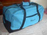 Personalized Travel Duffel Bag 22 Sports Dance Blue nw