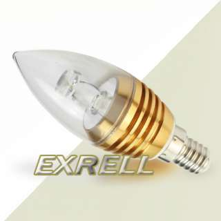High Power WarmWhite LED Home Candle Light Spotlight Bulb Lamp