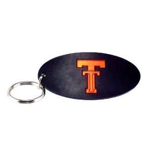 Texas Tech Red Raiders Black W/Orange TT Logo Oval