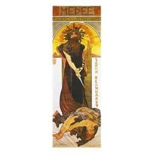 Medee by Alphonse Mucha 8x24 Everything Else